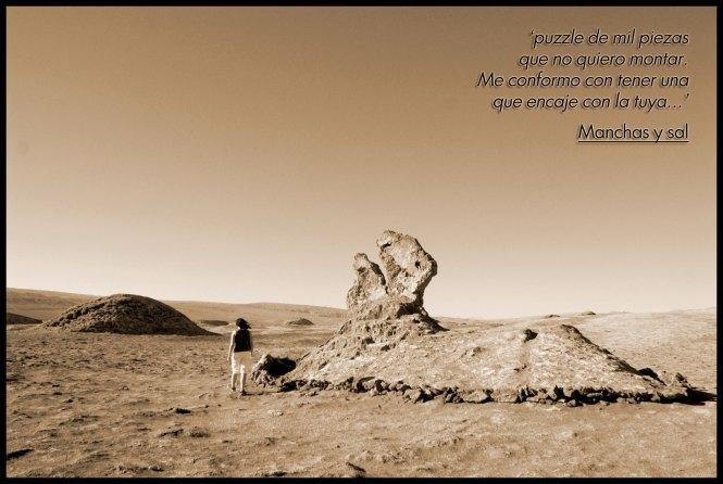 Nostalvia versus yo - Desierto Atacama