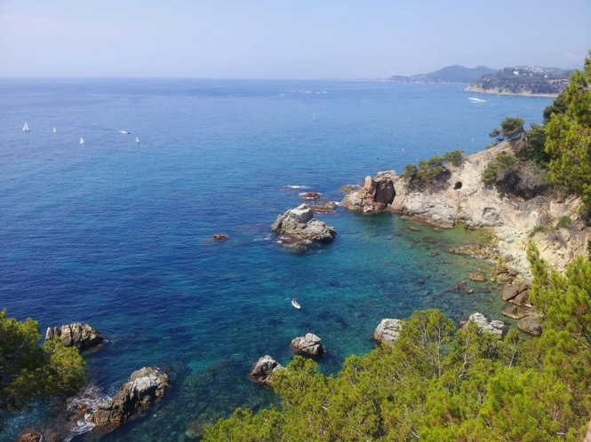 lloret de mar costa brava view
