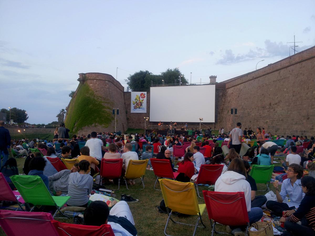 open air cinema barcelona