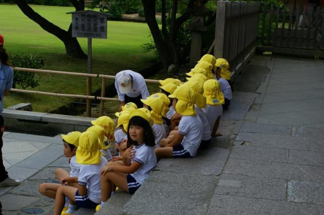 school kid japan nara