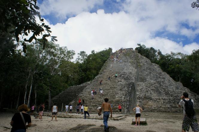 mexico coba ruins