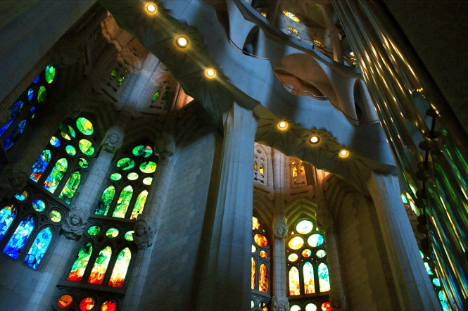 heart of la sagrada familia