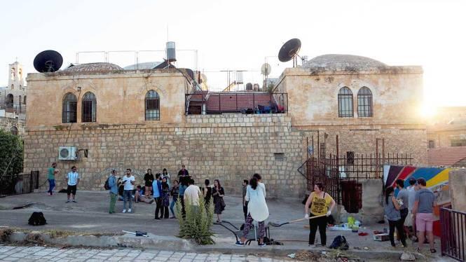 jerusalem art rooftop