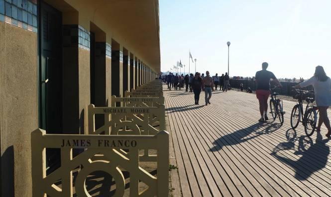 beach path deauville james franco american film festival