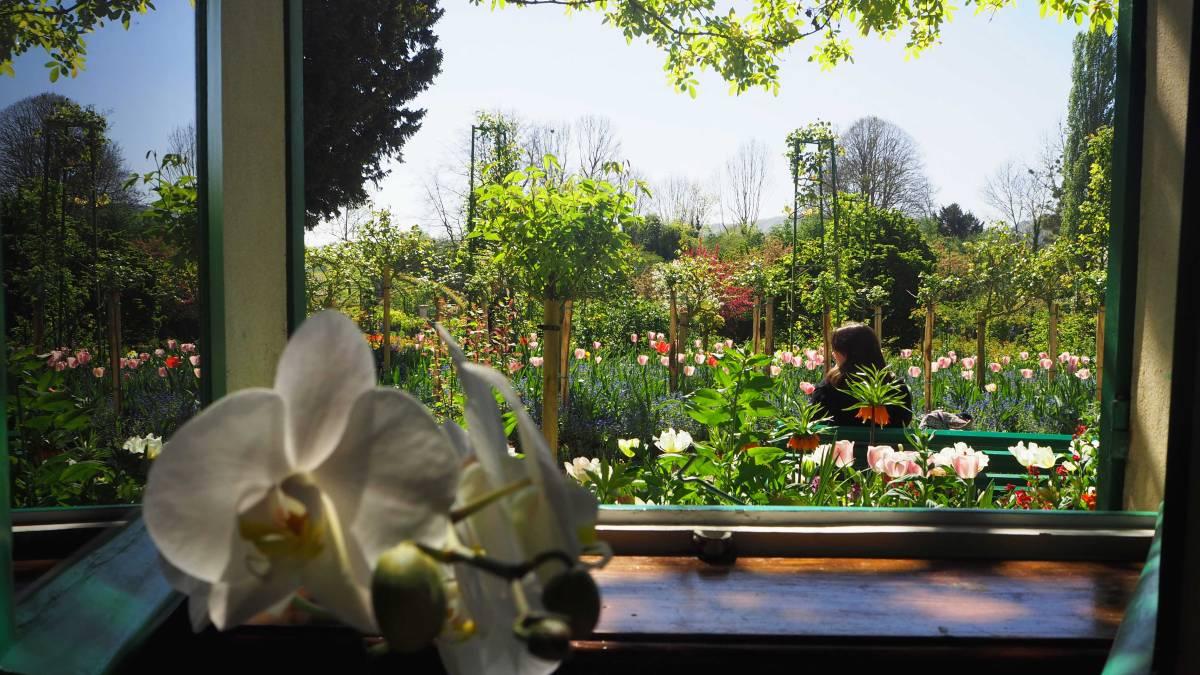 maison monet house jardin garden