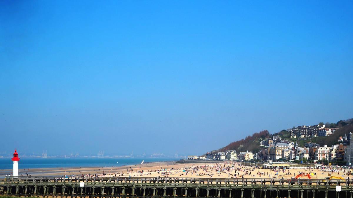 trouville beach plage