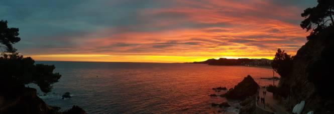 Sunset Lloret de Mar Costa Brava