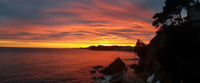 Sunset Lloret de Mar Costa Brava